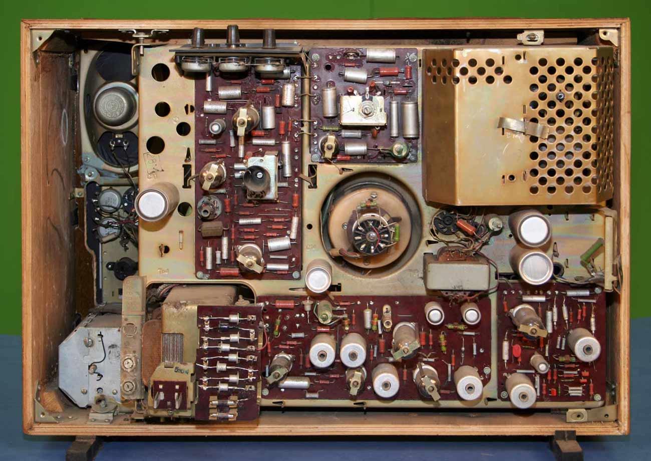 Схема телевизор рекорд 312